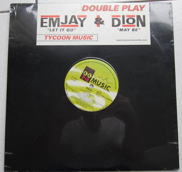 Emjay / Dion  ‎– Let It Go / Maybe - 1998 Euro House (vinyl)