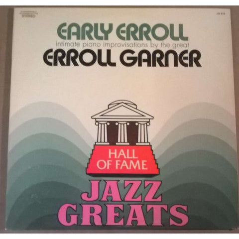 Erroll Garner ‎– Early Erroll -Jazz , swing (vinyl)
