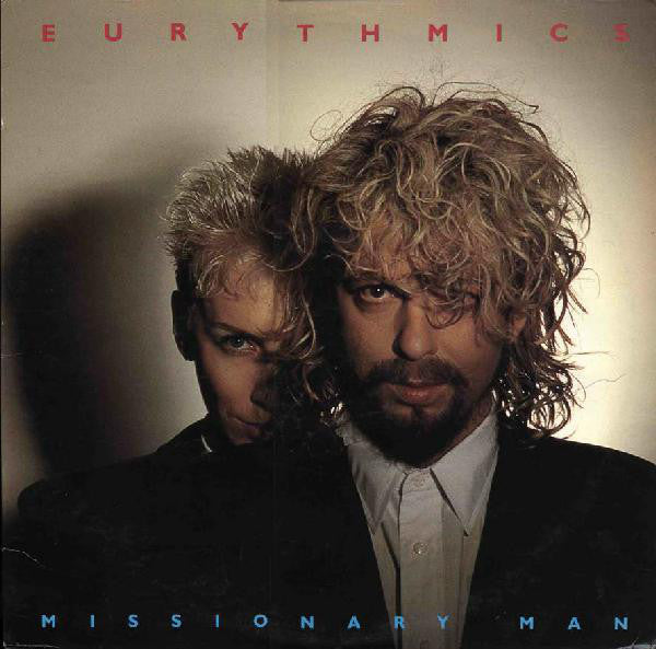 Eurythmics ‎– Missionary Man- 1986 -Synth-pop (vinyl)
