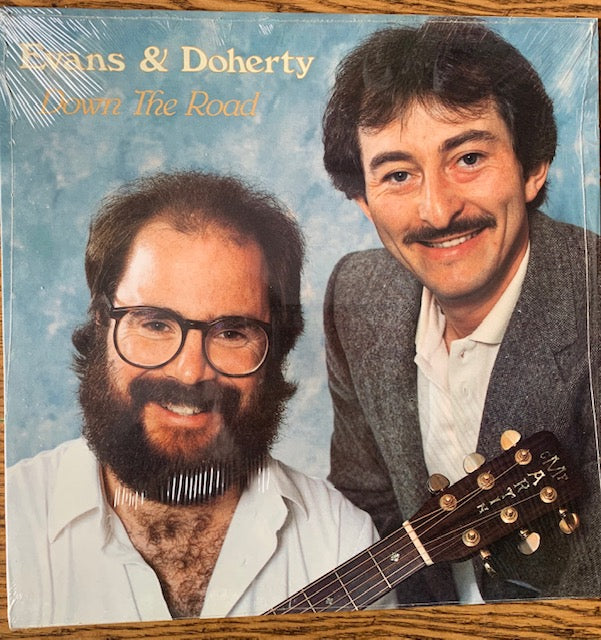 Evans & Doherty ‎– Down The Road -1985 Maritme Celtic- Folk, World, & Country (vinyl) SEALED COPY