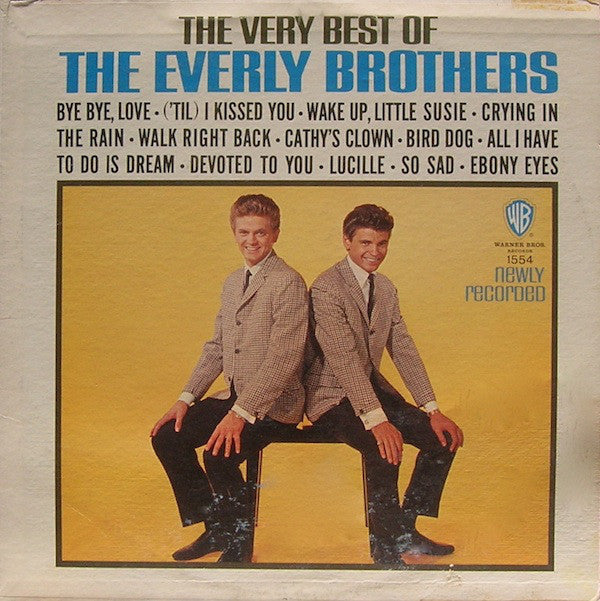 Everly Brothers ‎– The Very Best Of The Everly Brothers- 1964-pop vocal (vinyl)