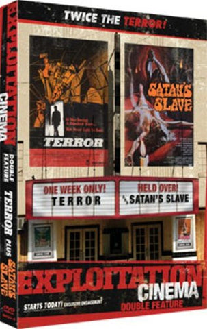 Exploitation Cinema Terror / Satan's Slaves - New DVD