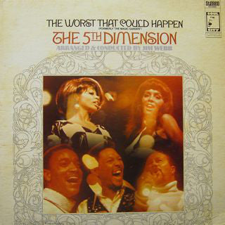 "Fifth Dimension ‎– The Worst That Could Happen (Formerly ""The Magic Garden"")1968-  Funk / Soul (vinyl)"