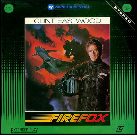 Firefox Video Laserdisc Stereo Two Disc Set Extended Play Clint Eastwood