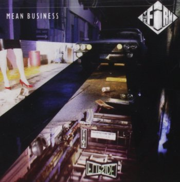 Firm ,The ‎– Mean Business - 1986-  Blues Rock (vinyl)