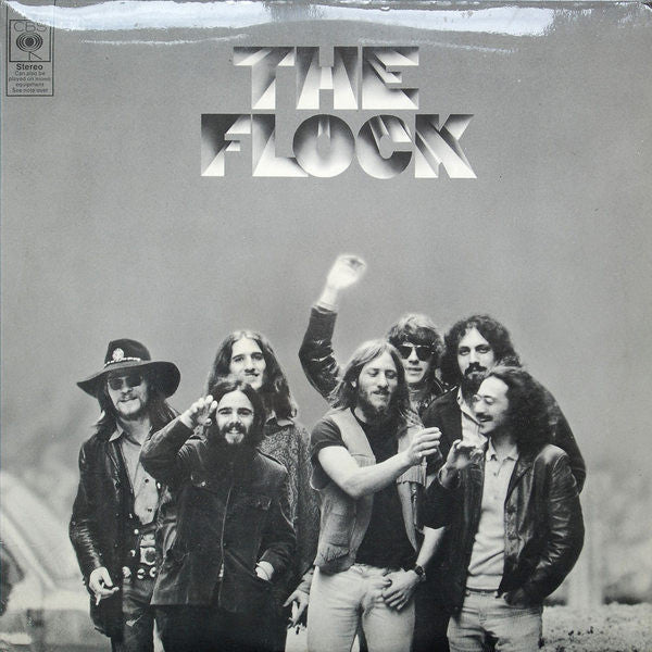 Flock ‎– The Flock - 1969- Art Rock, Psychedelic Rock, Jazz-Rock, Fusion (UK Vinyl)
