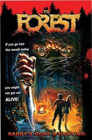 Forest,The - 1980's Slasher Horror DVD