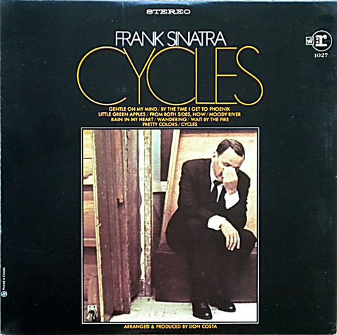 Frank Sinatra ‎– Cycles- 1968 Jazz / Big Band (vinyl)