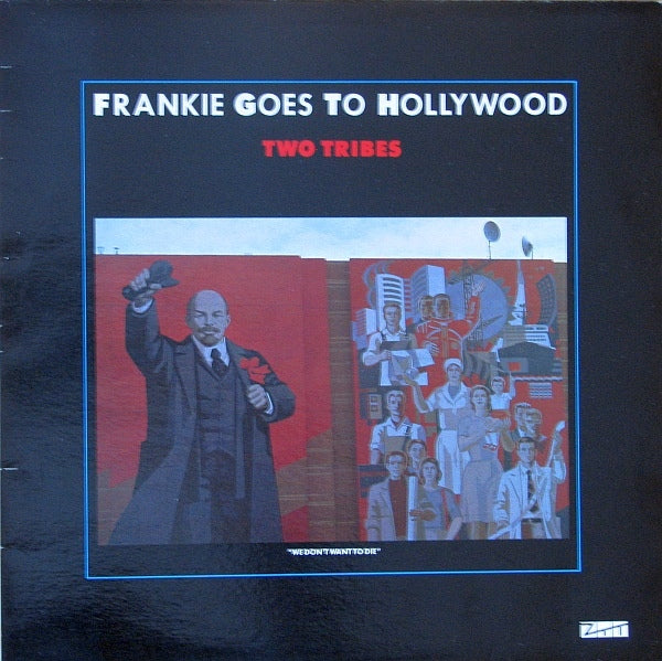 "Frankie Goes To Hollywood ‎– Two Tribes -1984 Synth-pop - 12"", 45 RPM"