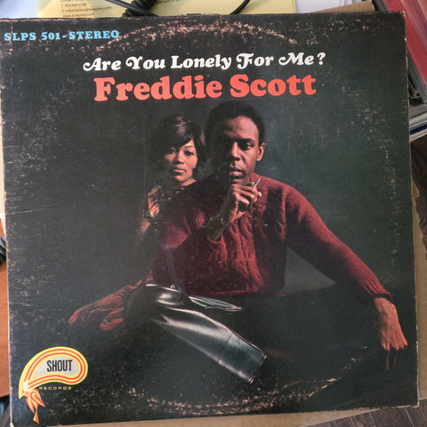 Freddie Scott ‎– Are You Lonely For Me? -  1967-Funk / Soul (Rare Vinyl) slight conditions