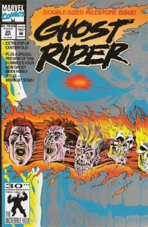 GHOST RIDER #25 - Pop-up centerfold