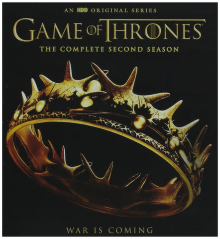 Game of Thrones: The Complete Second Season [Blu-ray] Mint used