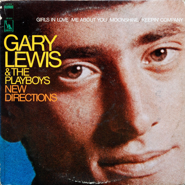 Gary Lewis & The Playboys ‎– New Directions  -1967 Pop Rock (vinyl)
