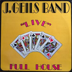 Copy of J. Geils Band LP Live Full House -1972 Blues Rock (clearance vinyl) Overstocked
