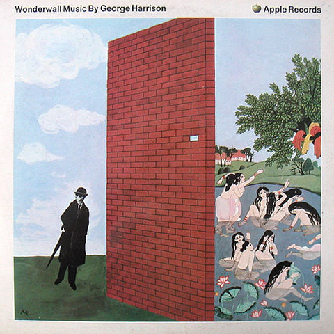 George Harrison ‎– Wonderwall Music - 1968-Avantgarde Rock (clearance vinyl)