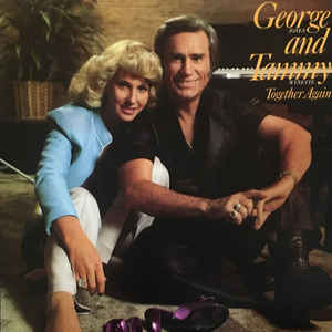 George Jones And Tammy Wynette ‎– Together Again -1980 - Country (vinyl)