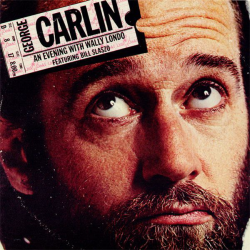 George Carlin ‎– An Evening With Wally Londo Featuring Bill Slaszo - 1975- Comedy Non Music (vinyl)