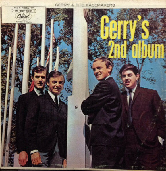 "Gerry & The Pacemakers ‎– Second Album -1965 -The ""6000"" Series – T-6107"