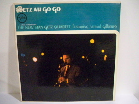 The New Stan Getz Quartet Featuring Astrud Gilberto ‎– Getz Au Go Go - 1964 Latin Jazz, Bossa Nova ( Very Rare Jazz Vinyl )