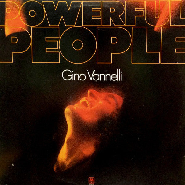Gino Vannelli ‎– Powerful People -1974- Synth-pop (vinyl)