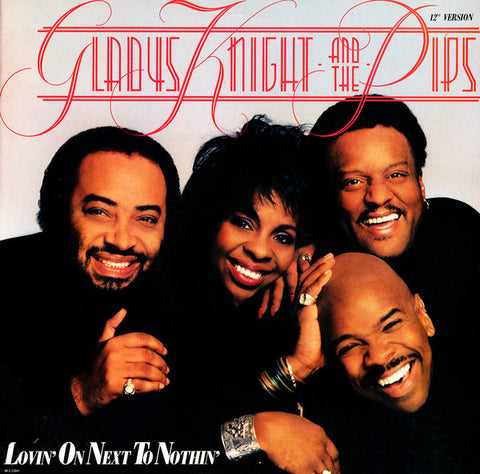 "Gladys Knight And The Pips ‎– Lovin' On Next To Nothin' (12"" Version) -1988- Funk / Soul (vinyl)  New Sealed"