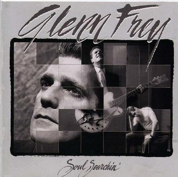 Glenn Frey ‎– Soul Searchin' -1988 - Pop Rock (vinyl)