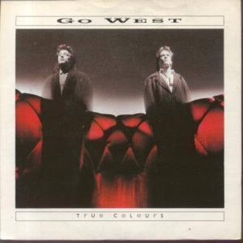 Go West ‎– True Colours (The Snake Charmer Mix) -1986 - Synth-pop (Uk Vinyl)