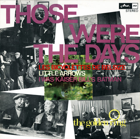 The Golden Ring ‎– Those Were The Days - Pop (vinyl)