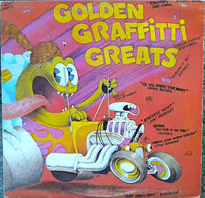 Golden Graffitti Greats - Little Richard, Chuck Berry , Bo Diddley + (vinyl) great album!