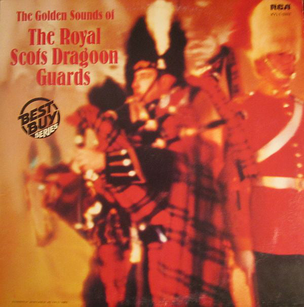 Royal Scots Dragoon Guards ‎– The Golden Sounds Of The Royal Scots Dragoon Guards -1977 Pipe & Drum (vinyl)