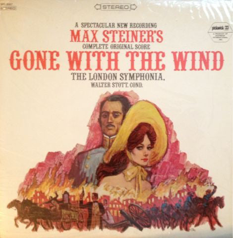 Gone With The Wind -The London Symphonia ‎– Max Steiner's Complete Original Score (vinyl)