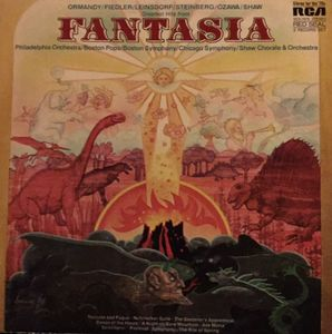 Greatest Hits From Fantasia - 2lps- 1971-  Baroque, Classical, Romantic, Modern (vinyl)