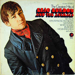 Greatest Hits Of Eric Burdon And The Animals,The  -1969- Psychedelic Rock (vinyl)