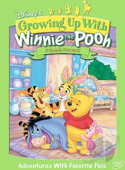 Growing Up With Winnie the Pooh - Friends Forever dvd- Mint Used