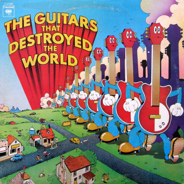 Guitars That Destroyed The World,The - 1973- Santana,Mountain, Blue Öyster Cult + (Classic Vinyl)