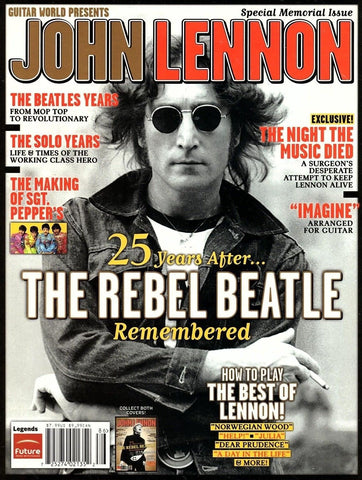 Guitar World Presents John Lennon Special Memorial Issue 25 Years After 2006 (Used Magazine)