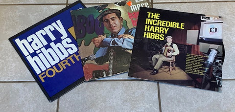 3 HARRY HIBBS ALBUMS -  Lot Sale - Newfoundland, Maritime (vinyl)