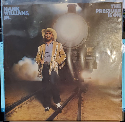 Hank Williams, Jr. ‎– The Pressure Is On -Country 1981- (vinyl)