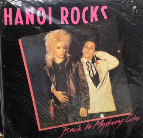 Hanoi Rocks ‎– Back To Mystery City -1983-  Hard Rock, Glam (vinyl)