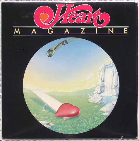 Heart ‎– Magazine -1978 Blues Rock, Pop Rock, Classic Rock (vinyl)