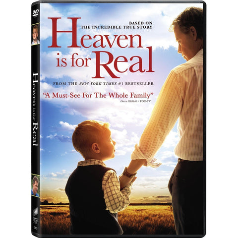 Heaven is For Real DVD - Kelly Reilly , Greg Kinnear ( new )