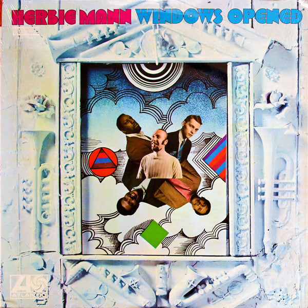 Herbie Mann ‎– Windows Opened -1968- Jazz, Funk / Soul, Pop (vinyl)