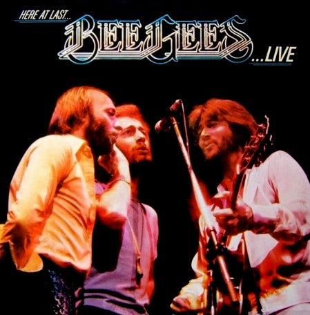 Bee Gees - Here at Last - Live - Double Vinyl LP - 1977 Rock (clearance vinyl) Overstocked