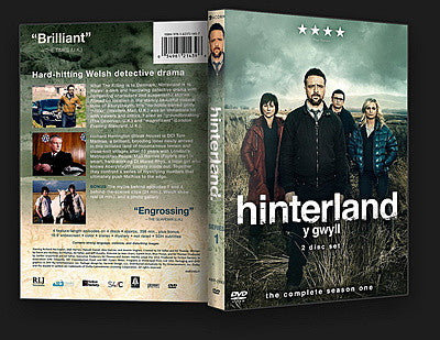 Hinterland Series 1 - DVD Set - New Sealed