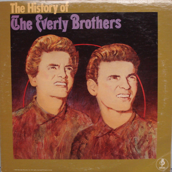 Everly Brothers ‎– The History Of The Everly Brothers -1974-2 LPS -Rock & Roll (Vinyl)