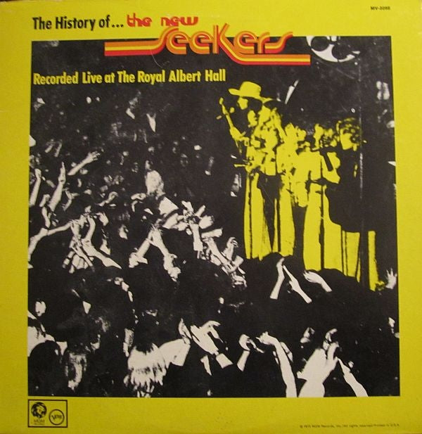 New Seekers,The ‎– The History Of The New Seekers Recorded Live At The Royal Albert Hall -1973- Vocal ballad (vinyl)