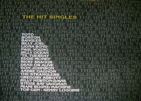 Hit Singles,the - CBS Direct Various -2 Lps -  Rock, Funk / Soul, Pop (vinyl) Stevie Ray,Boston, Toto , +