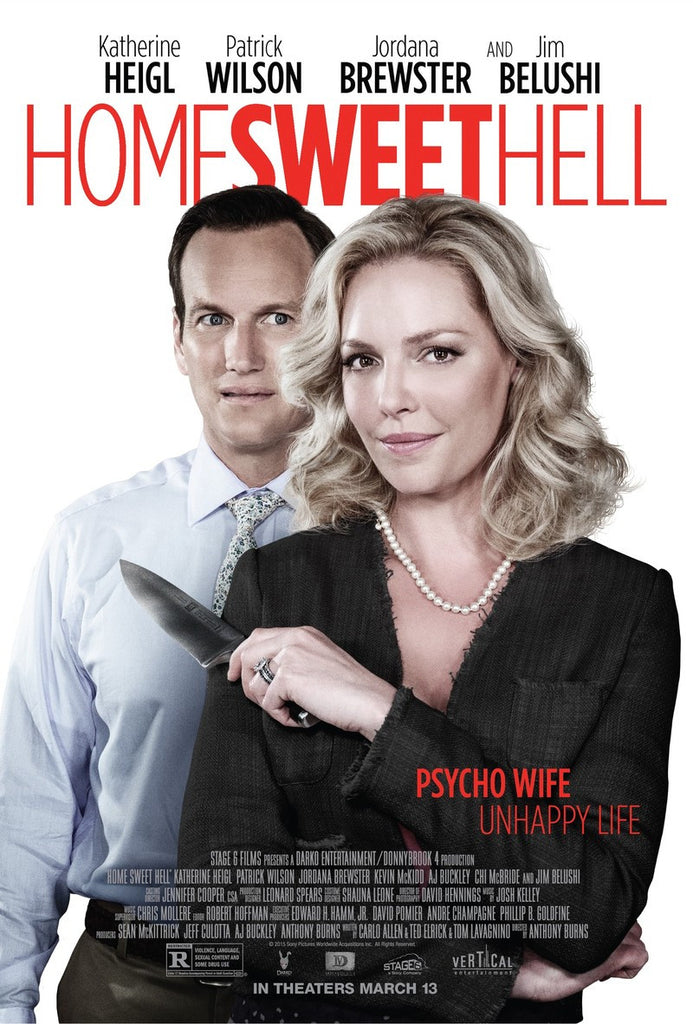 Home Sweet Hell 2015 dvd - Mint Used