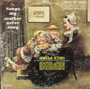 Homer & Jethro ‎– Songs My Mother Never Sang -1961 Folk (rare) Vinyl