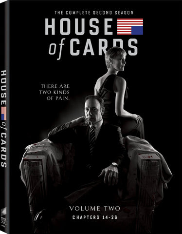 House of Cards: The Complete Second Season DVD Mint Used